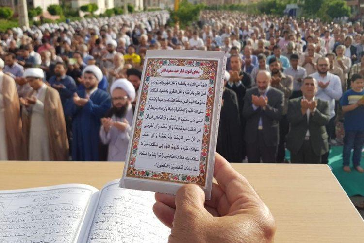 نماز عید فطر در حیاط مساجد خراسان رضوی برگزار میشود