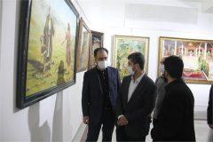 افتتاح نمایشگاه هنرهای تجسمی ثامن الائمه(ع) در مشهد