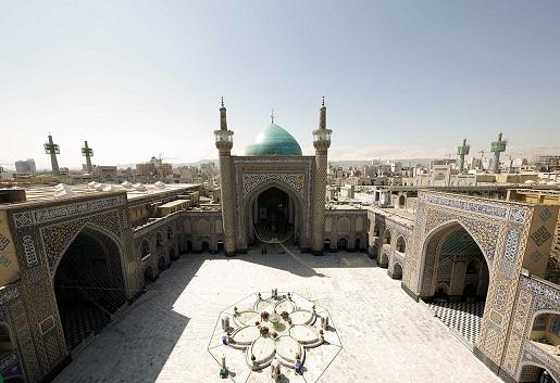 شکوه معماری عهد تیموری در حرم منور رضوی