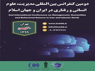 دومین کنفرانس بین المللی مدیریت، علوم انسانی و رفتاری در ایران و جهان اسلام