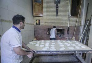 جهاد آستان قدس در عرصه پخت نان صلواتی