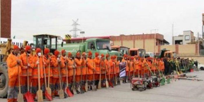 هشدار نارنجی هواشناسی «نارنجی پوشهای»مشهد را به حال آماده باش درآورد