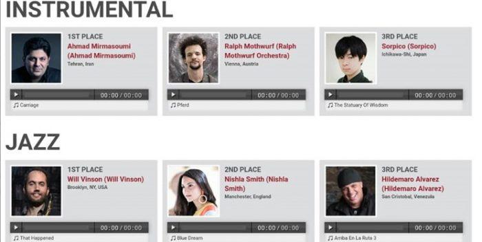 جایزه جهانی موسیقی برای آهنگساز ایرانی