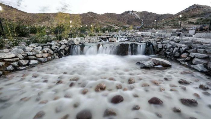 افتتاح بزرگترین آبشار مصنوعی کشور در مشهد